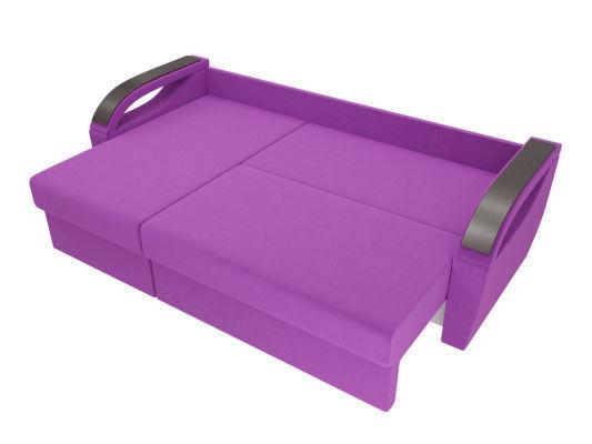 Диван ЛигаДиванов Форсайт угол левый микровельвет фиолетовый - фото 4