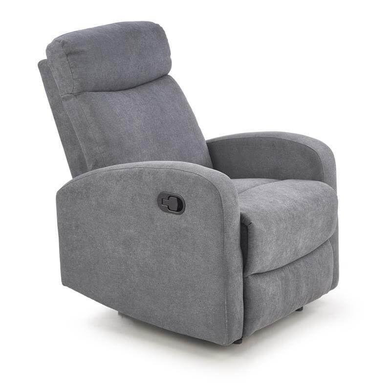 Кресло Halmar OSLO 1S (темно-пепельный) V-CH-OSLO_1S-FOT - фото 1