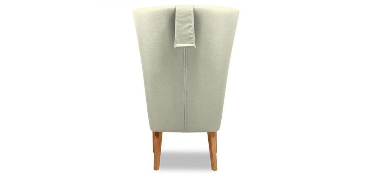 Кресло WOWIN Элеганза высокое (Серебряный микровелюр) - фото 5