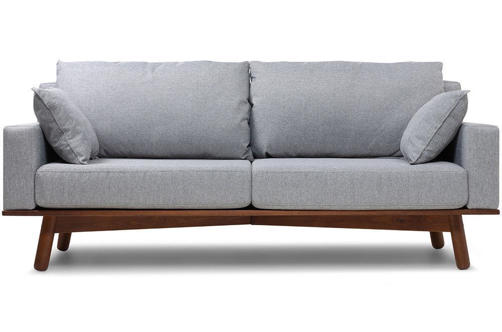 Диван Woodcraft Миннесота Textile Grey - фото 1