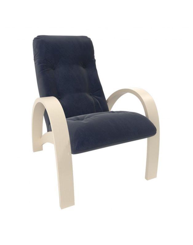 Кресло Impex Модель S7 Verona  сливочный (denim blue) - фото 1
