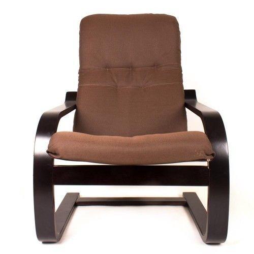 Кресло Greentree Сайма венге/ткань Кофе - фото 2