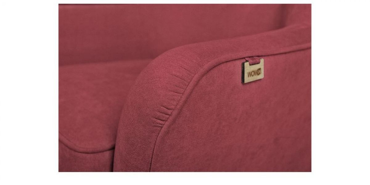 Кресло WOWIN Нуар (Бордовый велюр) - фото 3