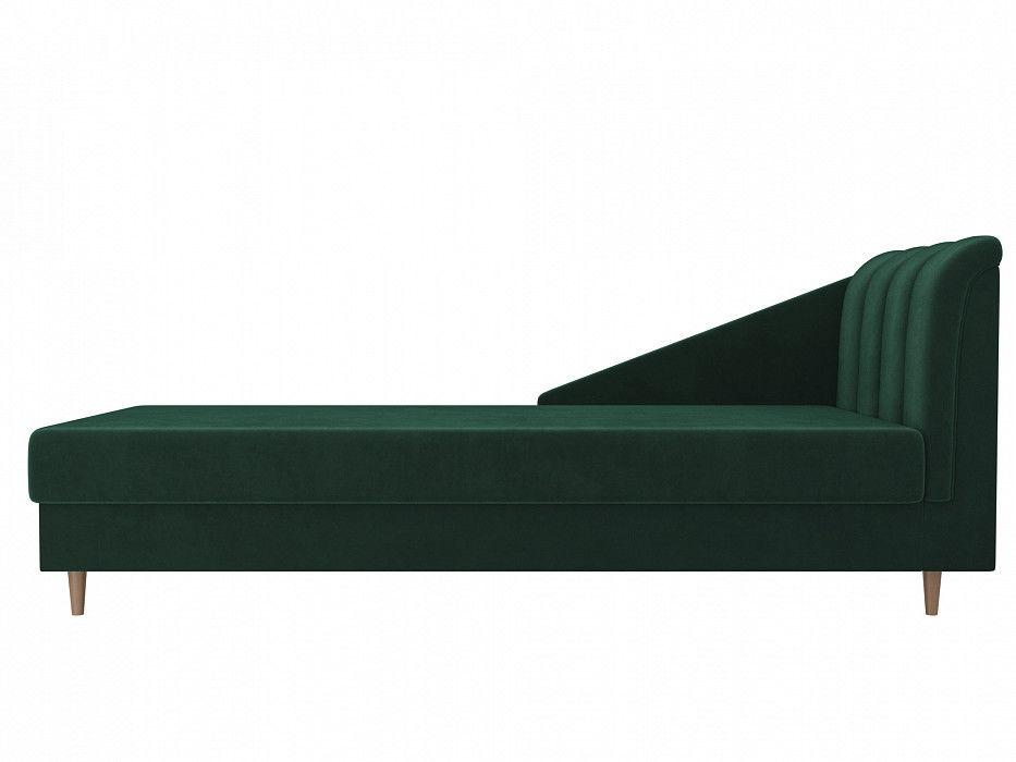 Диван ЛигаДиванов Астер велюр (зеленый) - фото 5