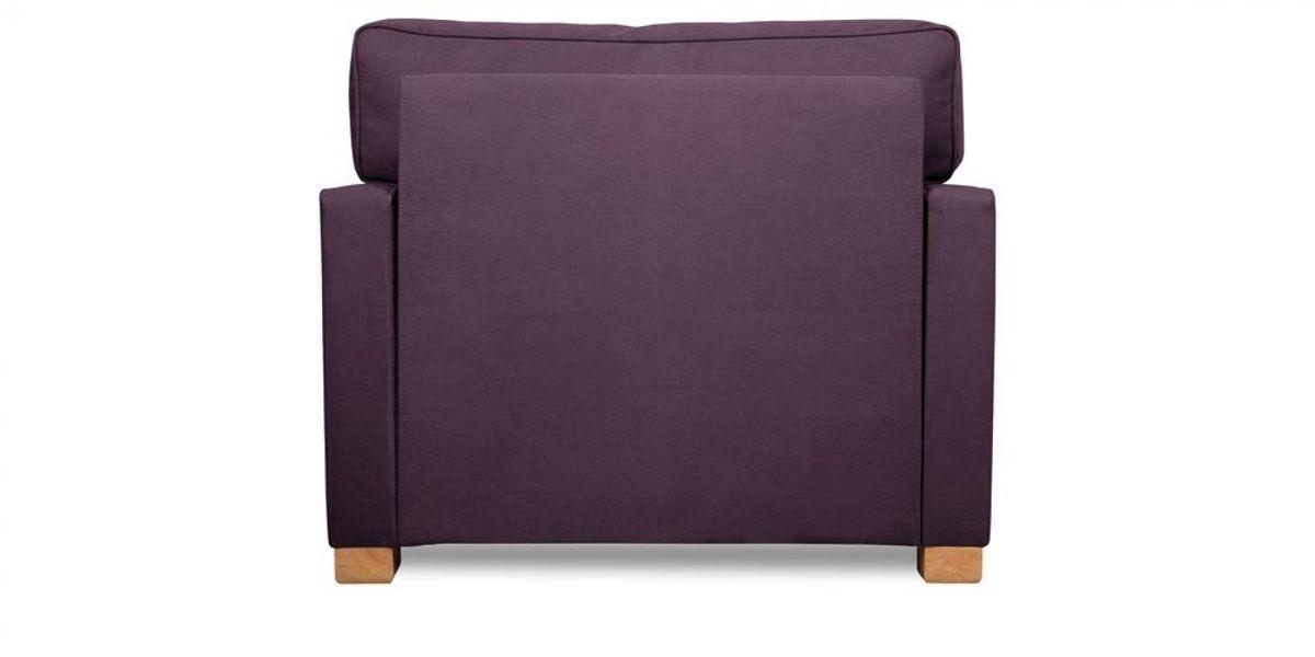 Кресло WOWIN Табу (Темно-фиолетовый велюр) - фото 5