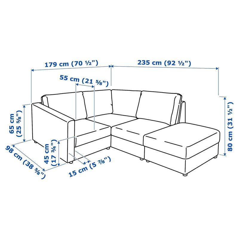 Диван IKEA Вимле 3-местный [592.115.38] - фото 13