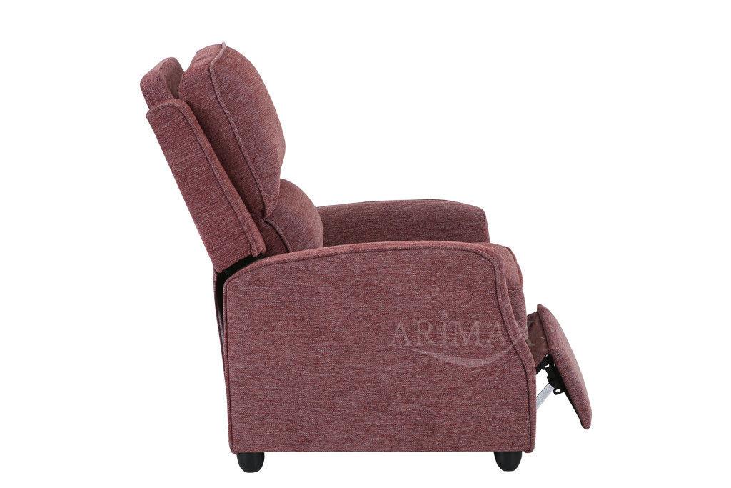 Кресло Arimax Dr Max DM02001 (Брусничный) - фото 6