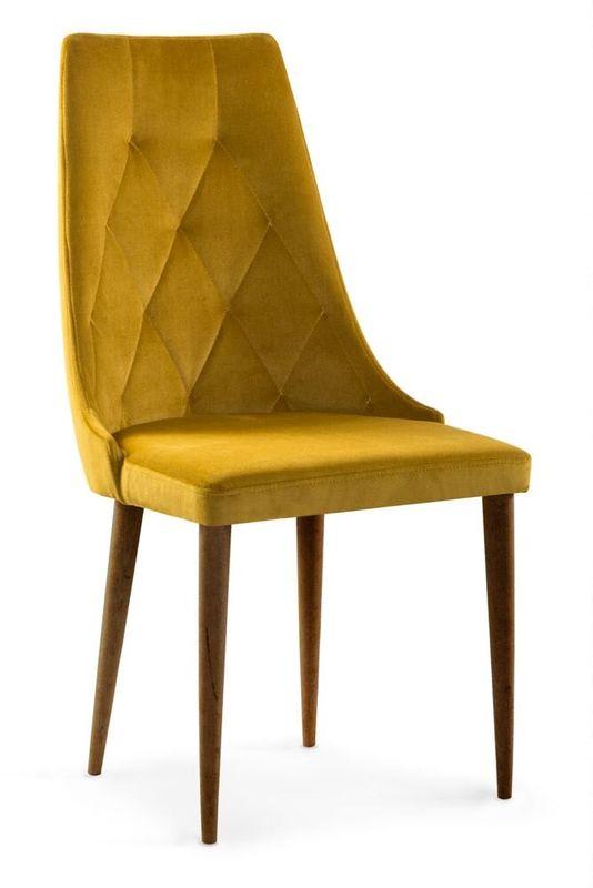 Кухонный стул Atreve Caren 2 медовый/орех - фото 1