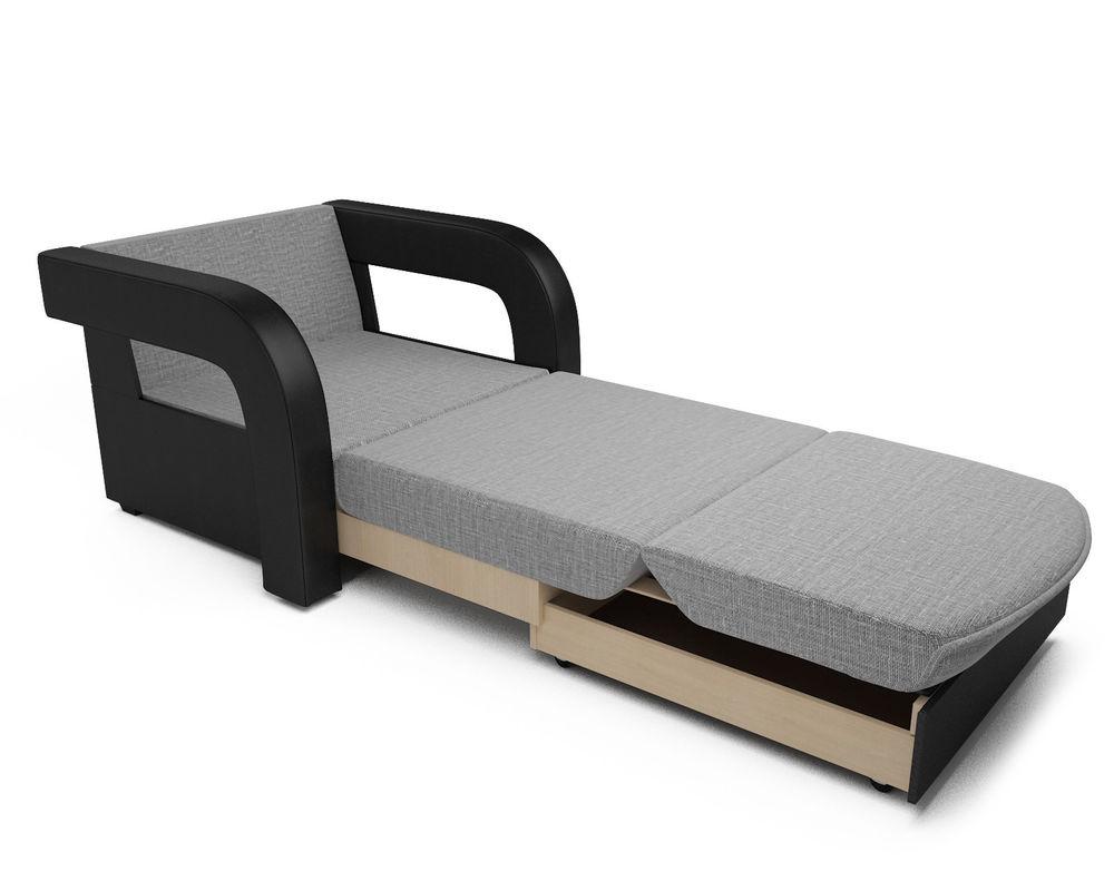 Кресло Мебель-АРС Кармен-2 (рогожка серая) - фото 7