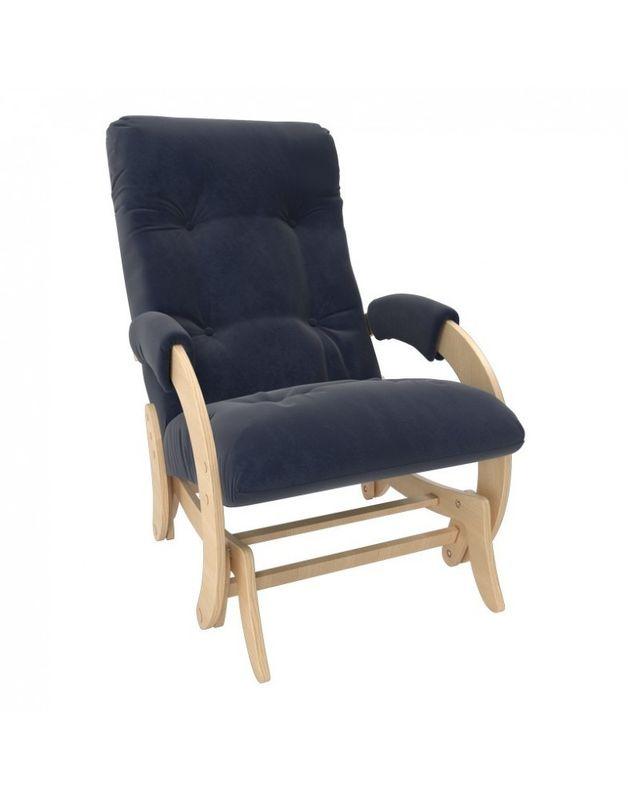 Кресло Impex Кресло-гляйдер Модель 68 Verona натуральный (denim blue) - фото 1