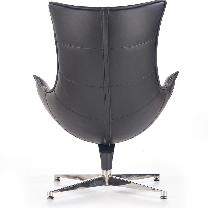 Кресло Halmar LUXOR (черный) V-CH-LUXOR-FOT-CZARNY - фото 5
