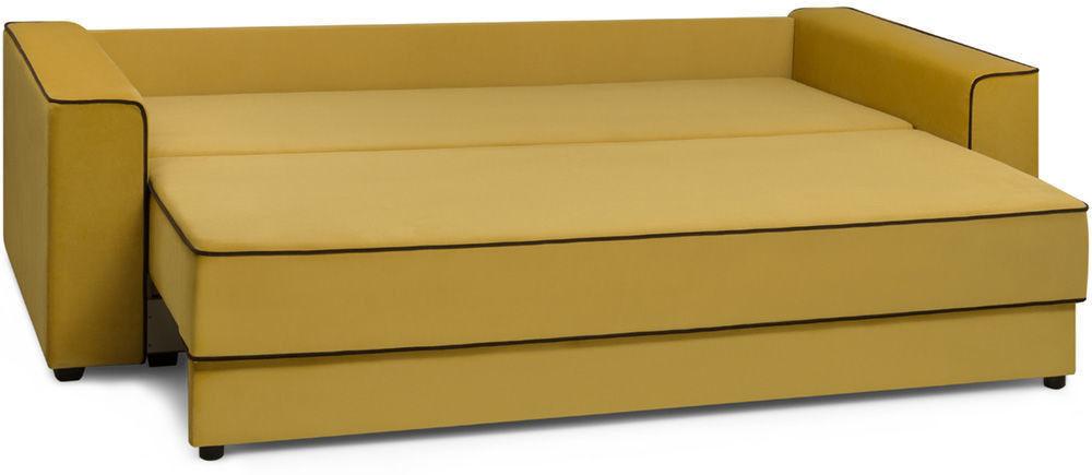 Диван Woodcraft Менли НПБ Velvet Yellow - фото 4