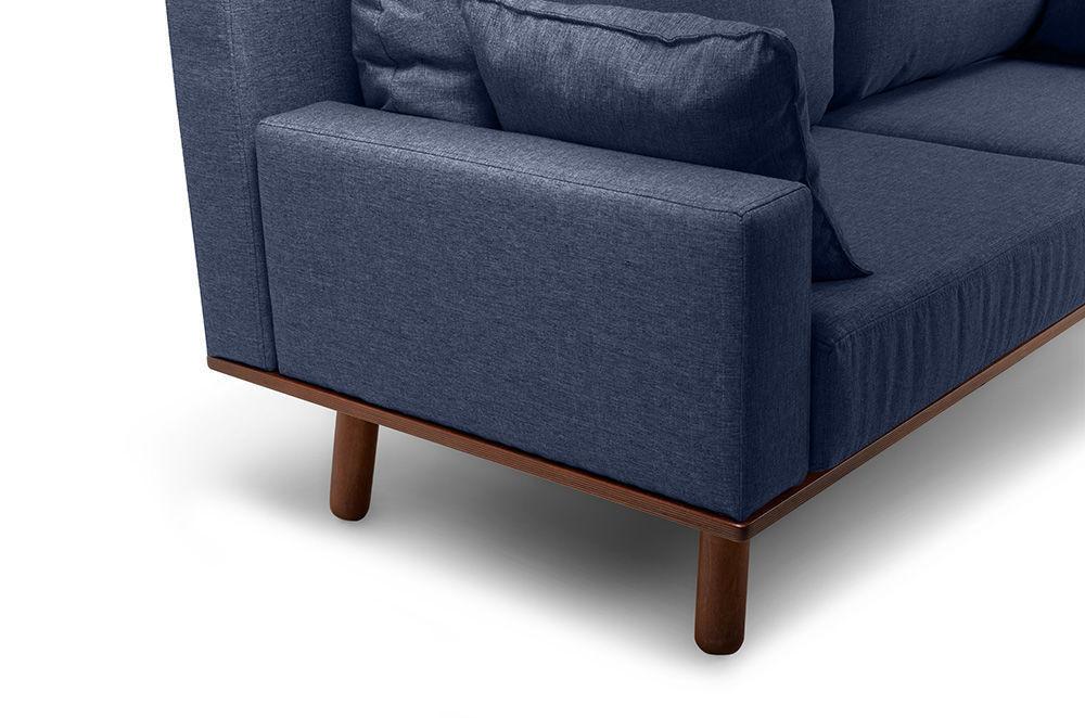 Диван Woodcraft Миннесота Textile Blue - фото 9