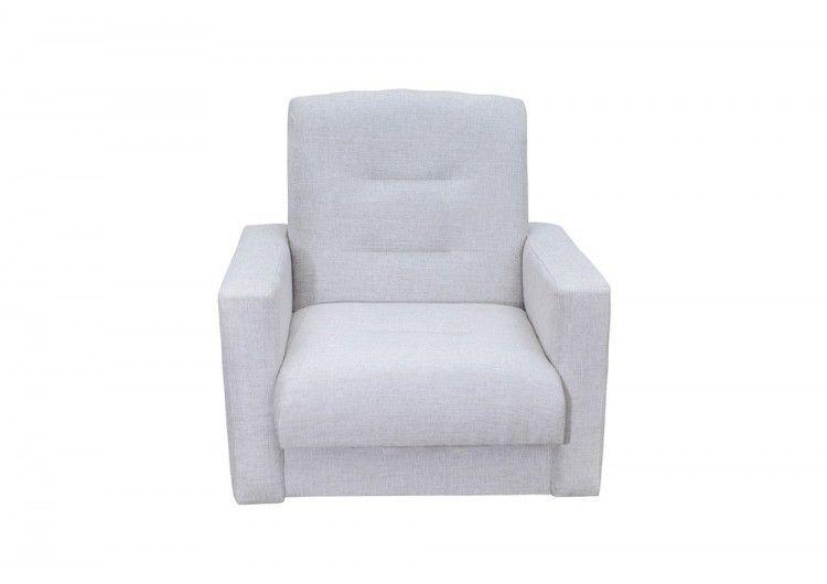 Кресло Луховицкая мебельная фабрика Лондон бежевая рогожка (140х190) - фото 1