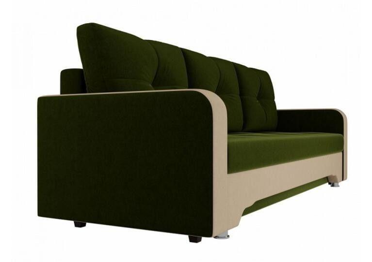 Диван Craftmebel Ник-3 зеленый вельвет - фото 3