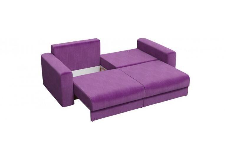 Диван Craftmebel прямой Мэдисон фиолетовый вельвет - фото 4