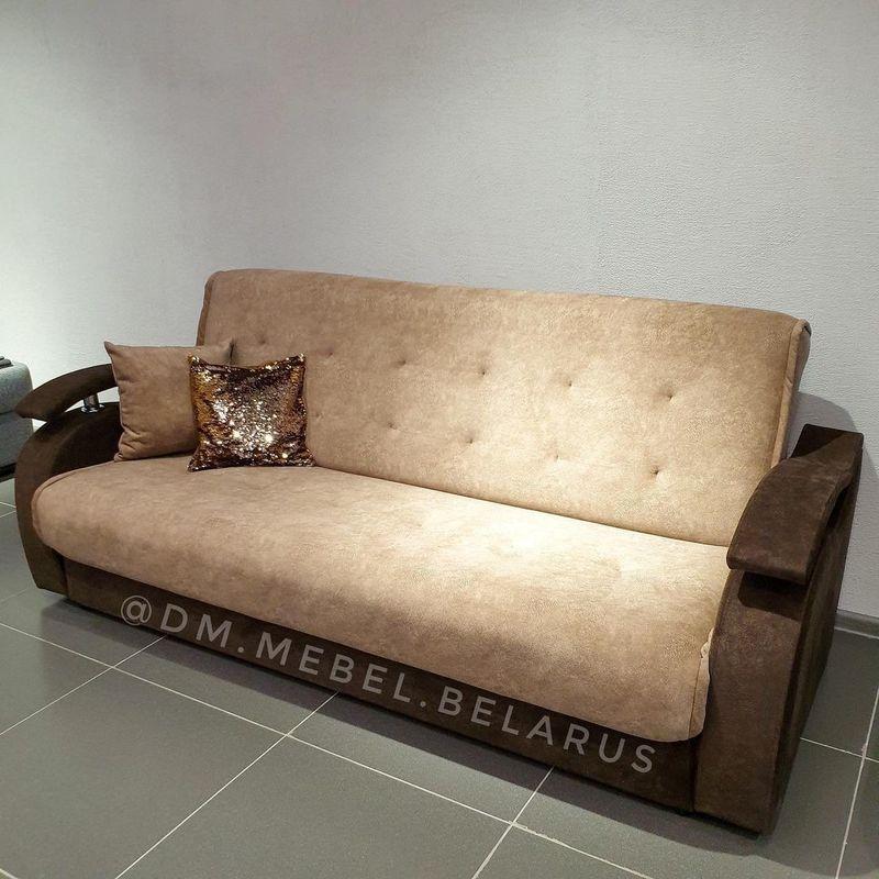 Диван DM-мебель Лаура (песочный/коричневый) - фото 1