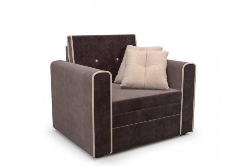 Кресло Craftmebel Санта (кордрой коричневый) - фото 1