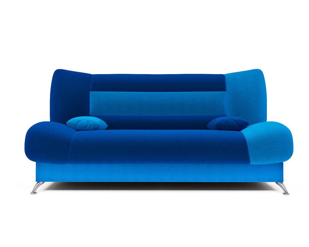 Диван Мебель-АРС Лодочка астра синяя - фото 1