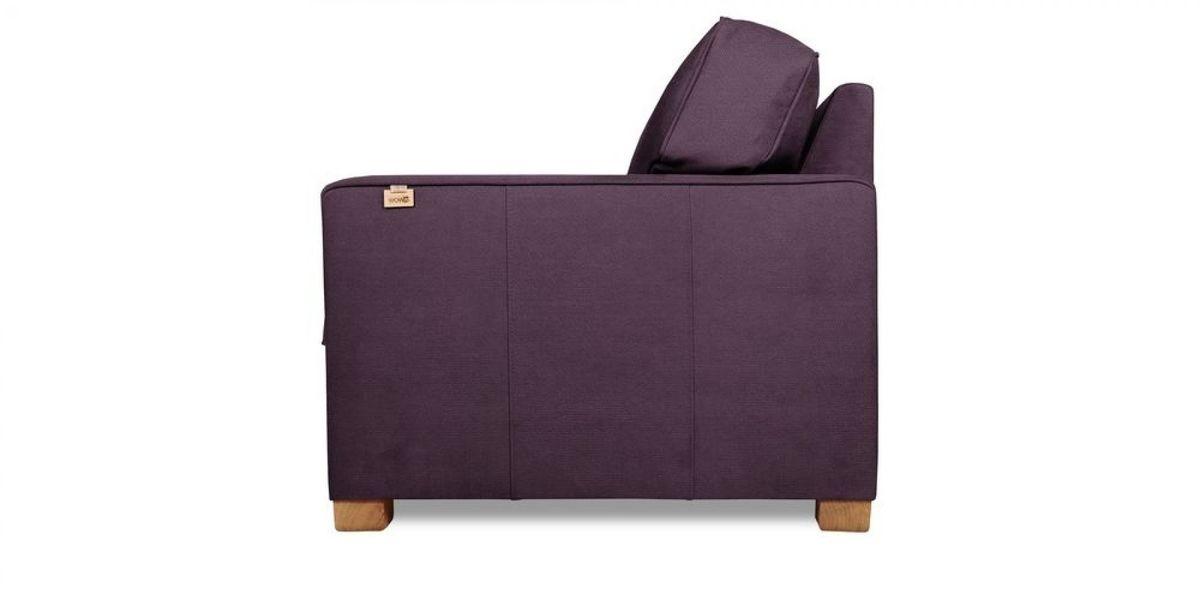 Кресло WOWIN Табу (Темно-фиолетовый велюр) - фото 3