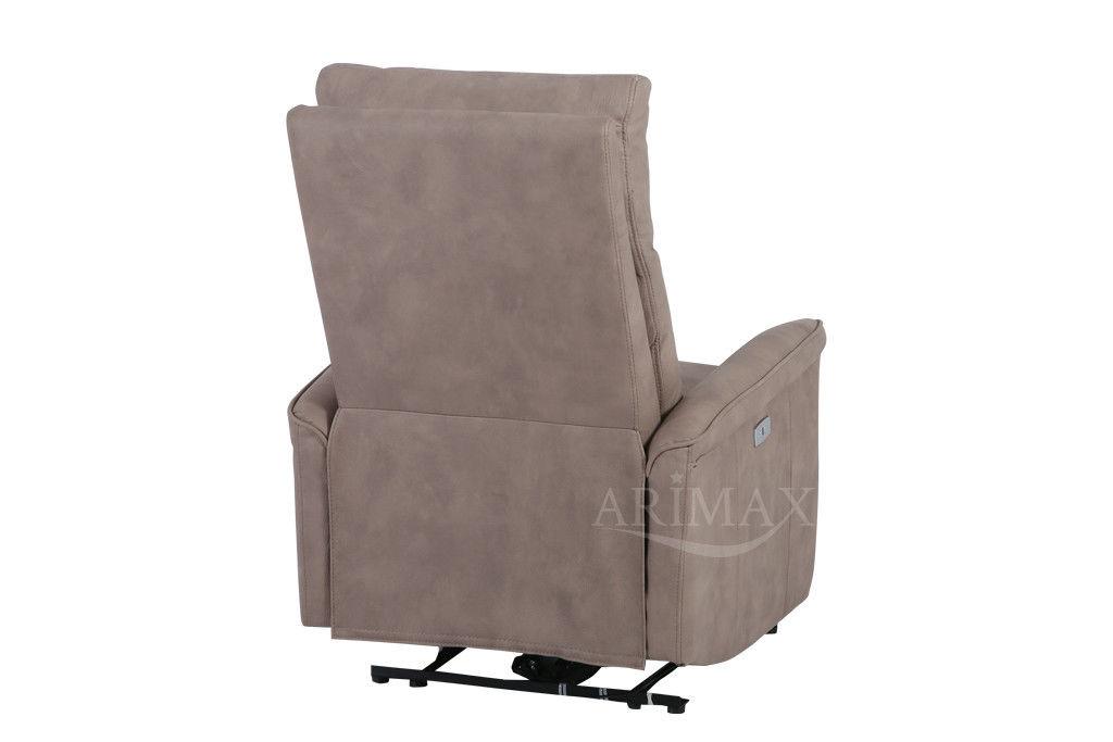 Кресло Arimax Dr Max DM02002 (Светло-коричневый) - фото 8