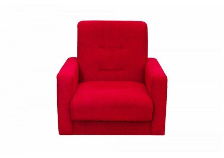 Кресло Луховицкая мебельная фабрика Милан красный - фото 1