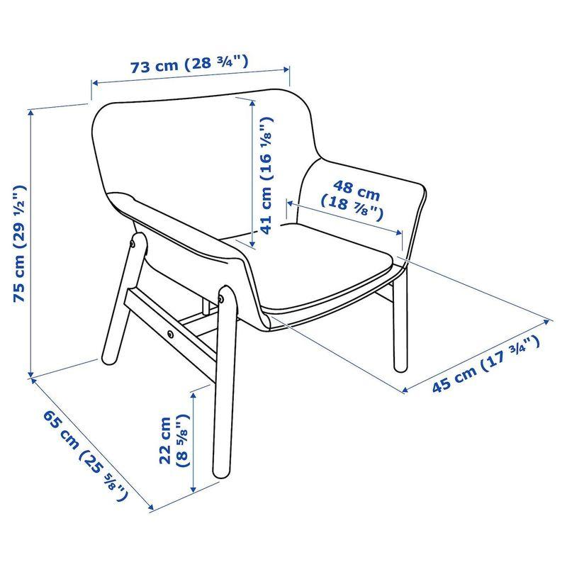 Кресло IKEA Ведбу 904.241.27 - фото 8