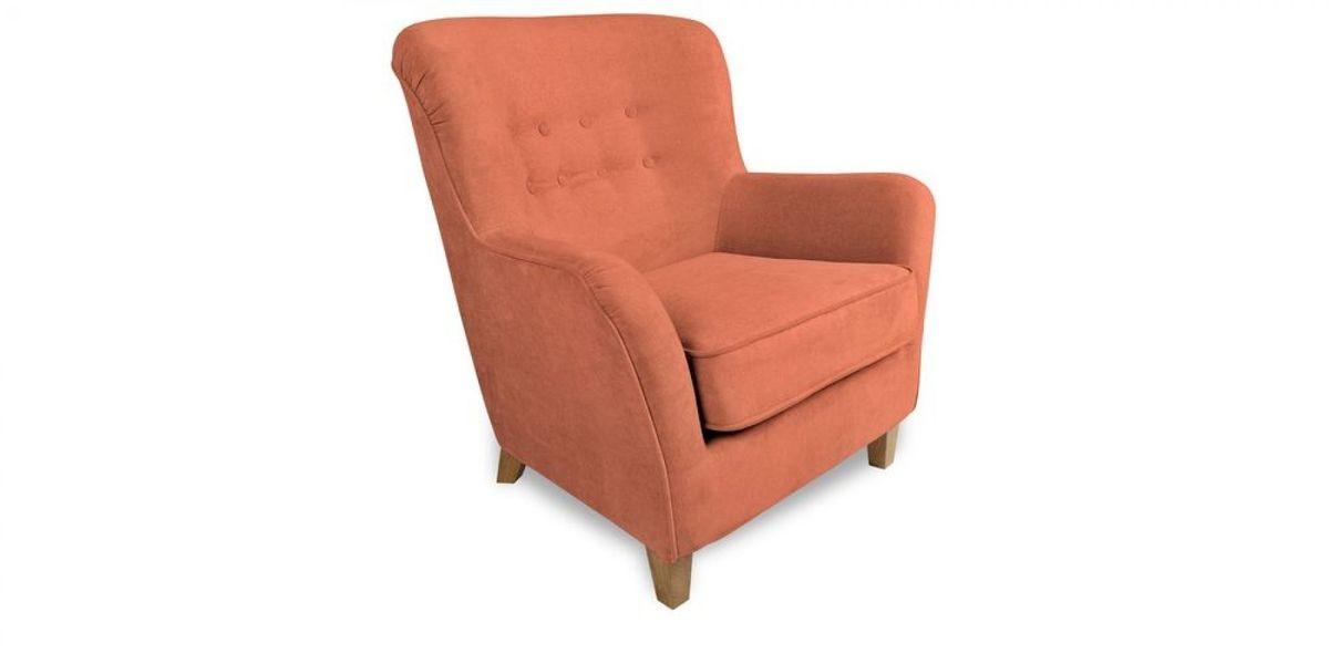 Кресло WOWIN Нуар (Терракотовый велюр) - фото 1