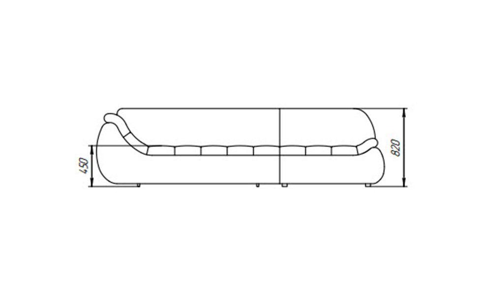 Диван LAMA мебель Эдисон (угловой) - фото 4
