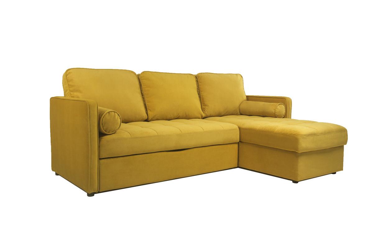 Диван Puffo Ливерпуль Velvet Yellow - фото 3