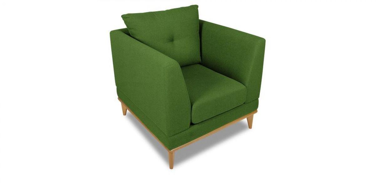 Кресло WOWIN Эстар (Зеленый велюр) - фото 1
