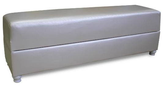 Пуфик Экомебель Милан с нишей для хранения (ткань склад) - фото 4