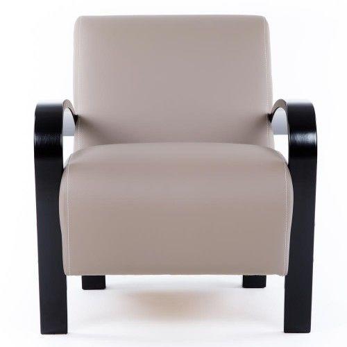 Кресло Greentree Балатон венге/экокожа Мускат - фото 2