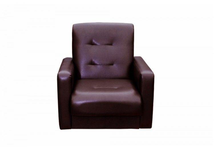 Кресло Луховицкая мебельная фабрика Аккорд коричневое (120х190) - фото 2