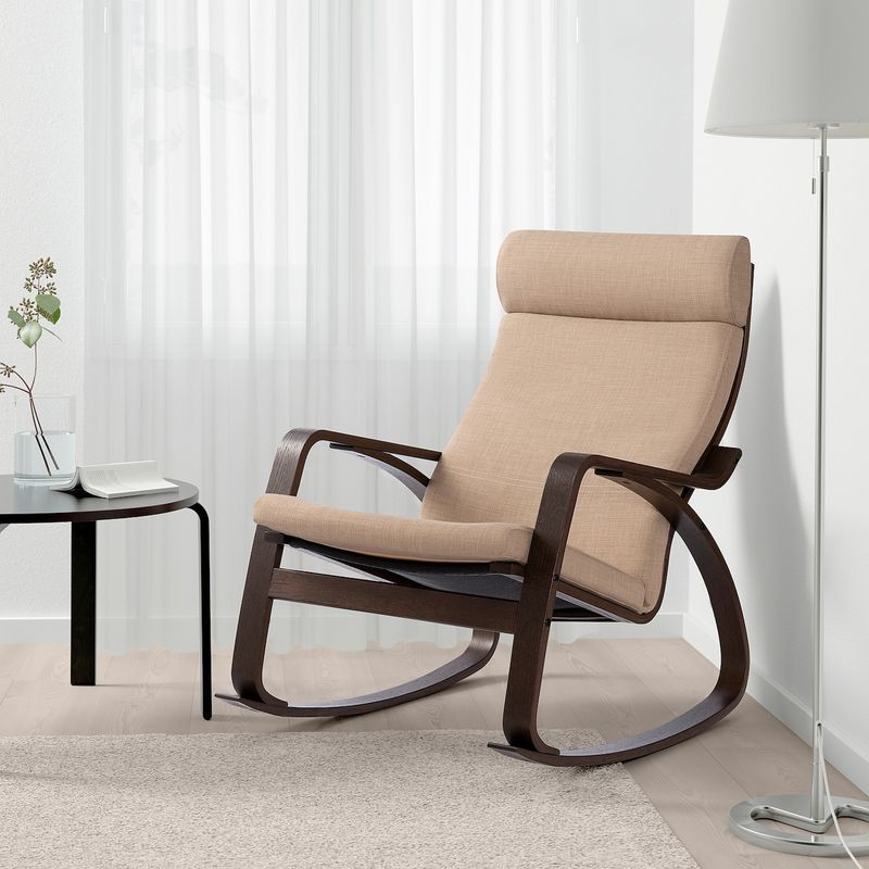 Кресло IKEA Поэнг 893.028.29 - фото 3