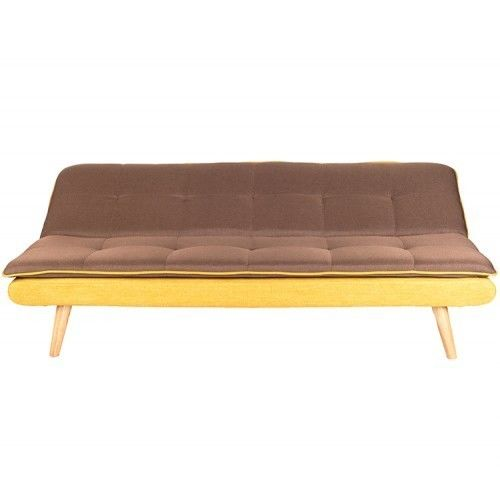 Диван Альта Мебель Lagertha (Лагерта) светло-коричневый/желтый - фото 3