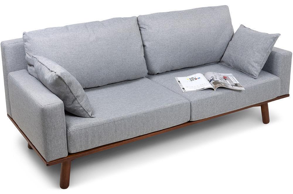 Диван Woodcraft Миннесота Textile Grey - фото 2
