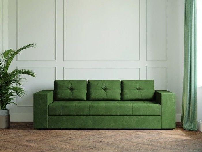 Диван Настоящая мебель Ванкувер Лайт зелёный - фото 1