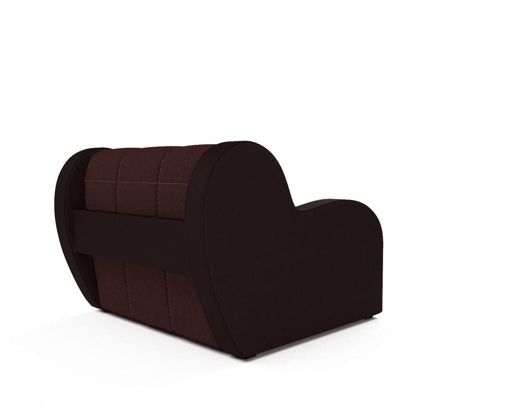 Кресло Мебель-АРС Аккордеон Барон люкс (микровелюр + экокожа) - фото 4