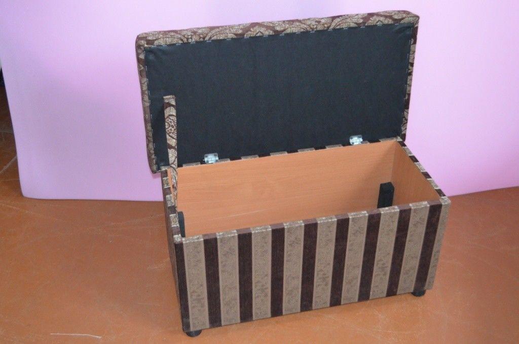 Пуфик Вливск-Мебель 40x80 с нишей - фото 4