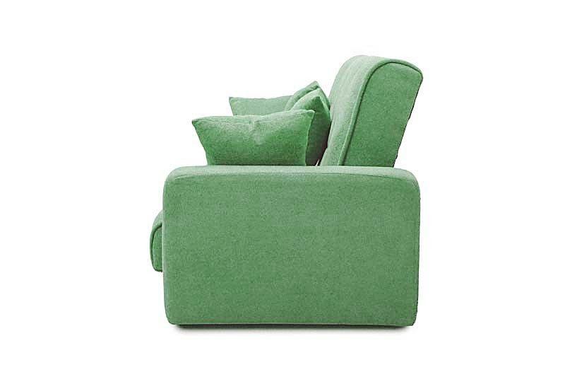 Диван Луховицкая мебельная фабрика Милан 120х190 гобелен/шенилл зеленый - фото 3