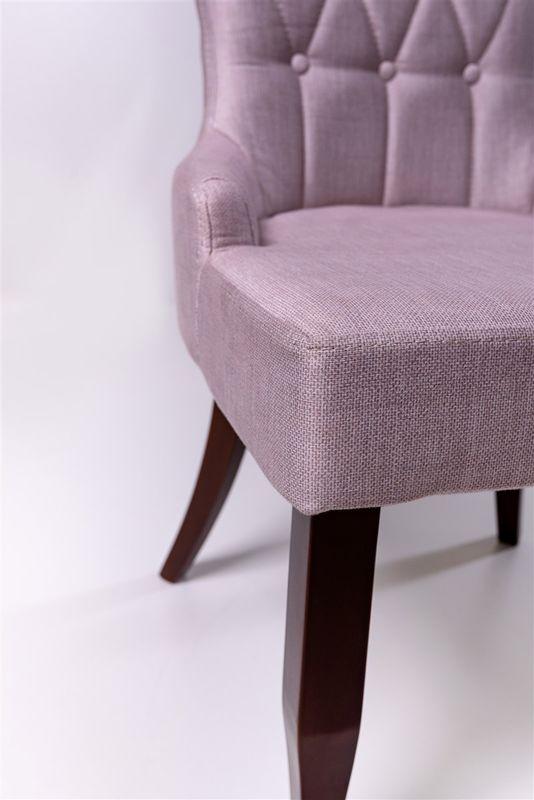 Кресло ФорестДекоГрупп Мимоза (розовый/черный) MIMOZA-PK-BL - фото 3
