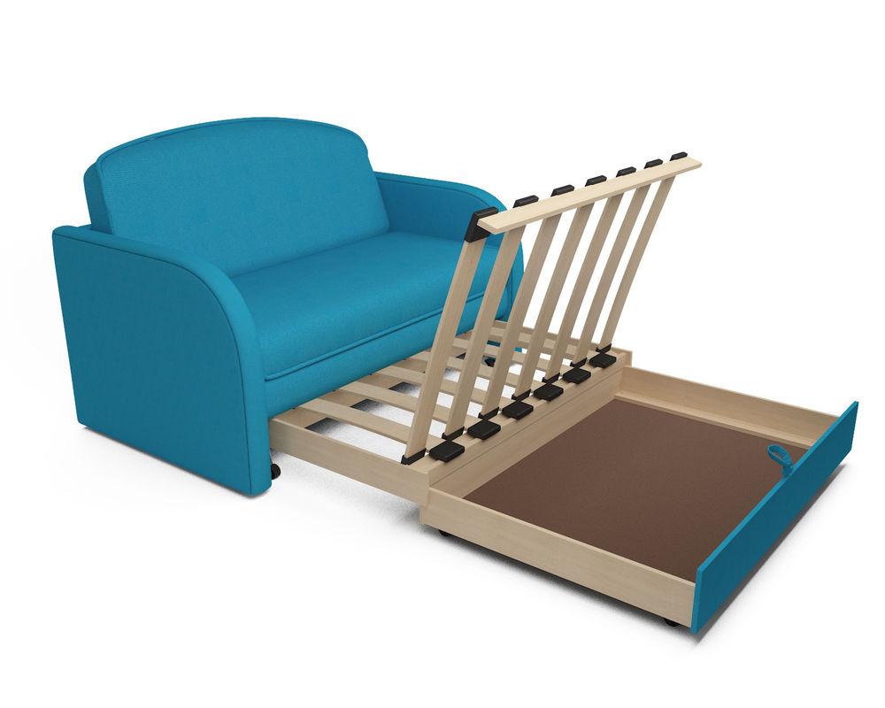 Диван Мебель-АРС Малютка (синий) - фото 6