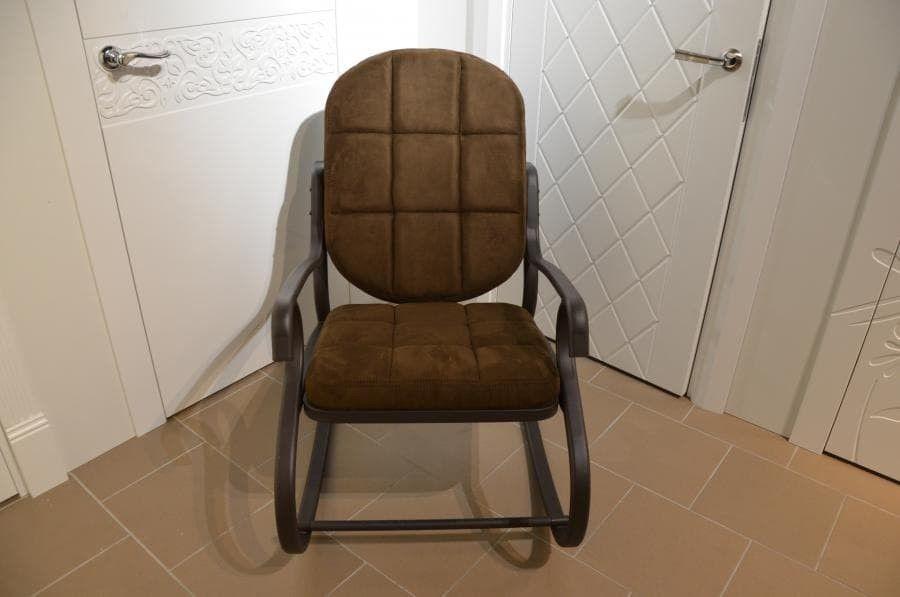 Кресло Calviano Relax steel 1 - фото 2