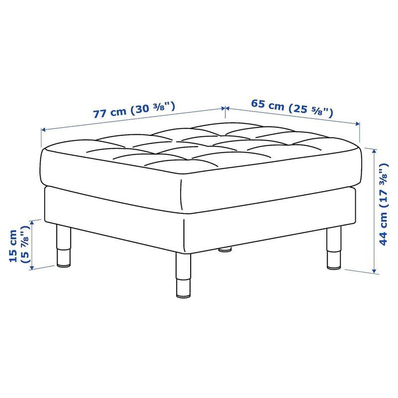 Пуфик IKEA Ландскруна 392.488.92 - фото 6