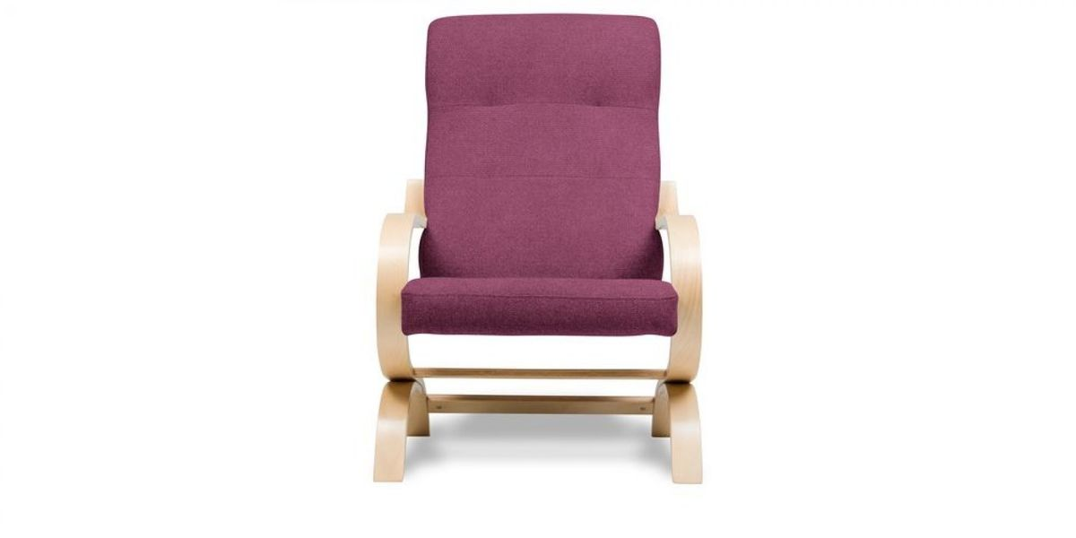 Кресло WOWIN Вейв (Фуксия велюр) - фото 2