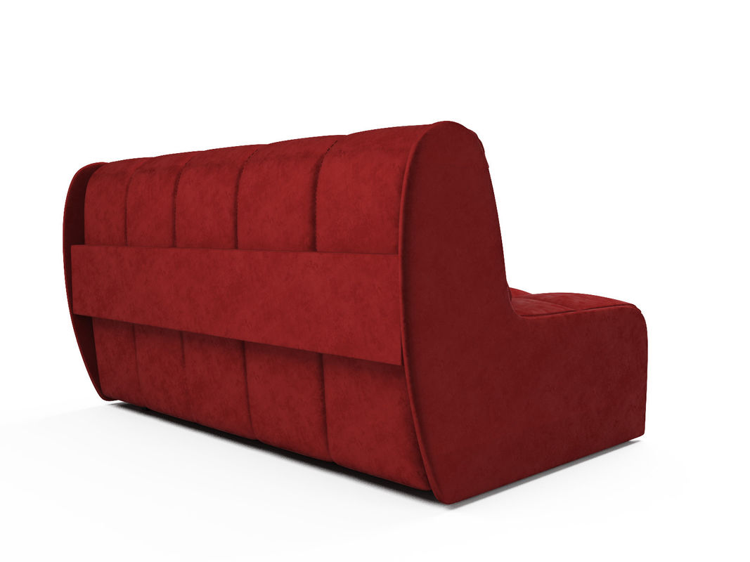 Диван Мебель-АРС Аккордеон Барон №2 (бархат красный  STAR VELVET 3 DARK RED) - фото 4