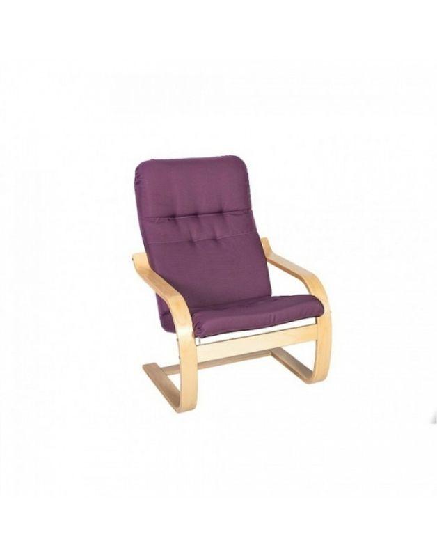 Кресло Impex Сайма ткань (Лиловый) - фото 1