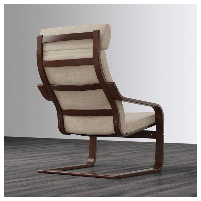 Кресло IKEA Поэнг 392.514.98 - фото 4