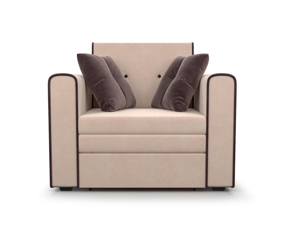 Кресло Мебель-АРС Санта (кордрой бежевый) - фото 2